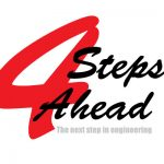4StepsAhead The next step in engineering Logo
