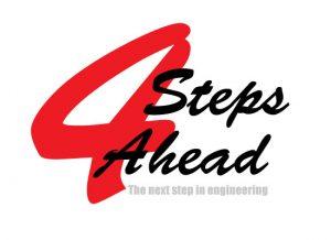 4StepsAhead The next step in engineering Logo